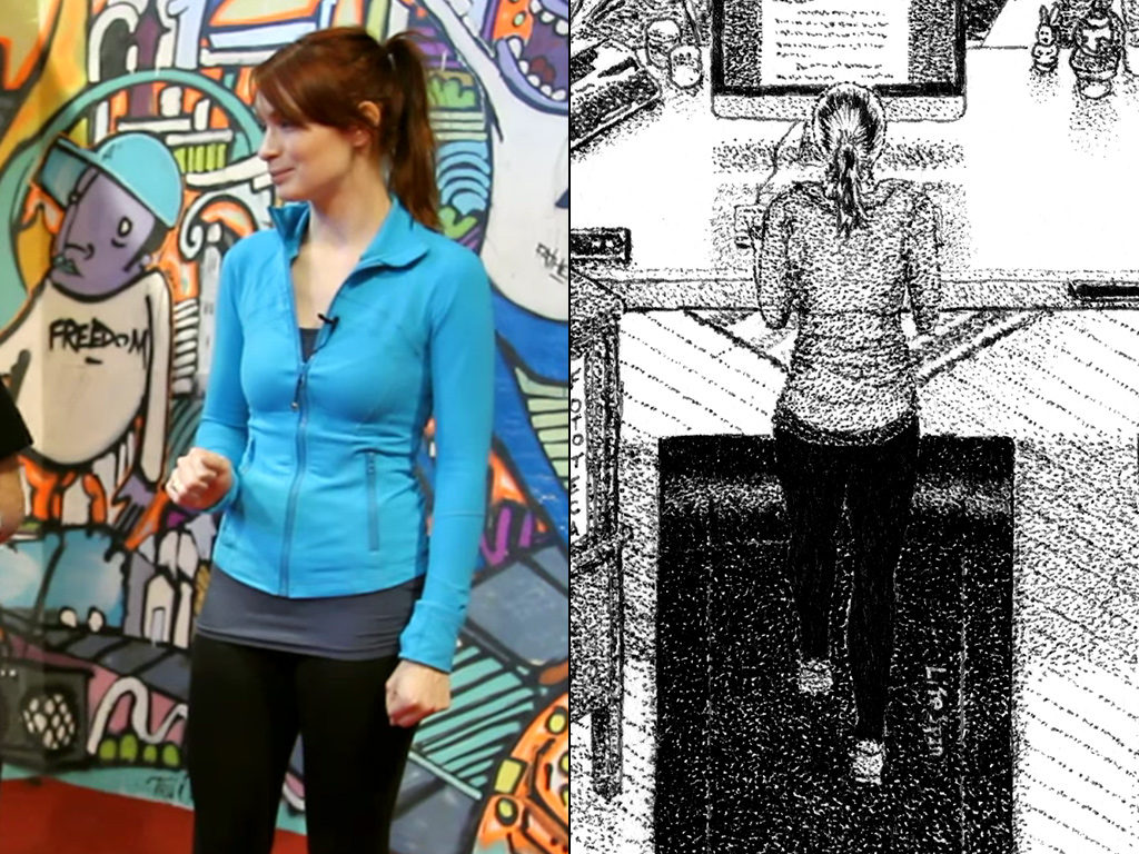 Comparison of athletic outfit