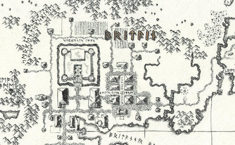 Ultima VI Map